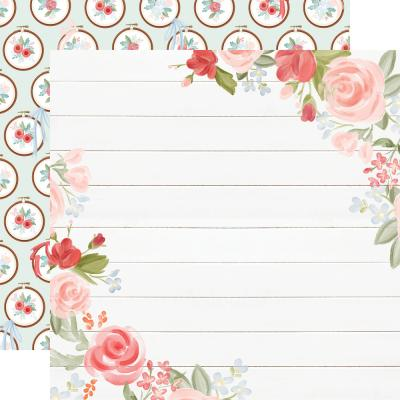 Carta Bella Farmhouse Market Designpapier - Floral Corners