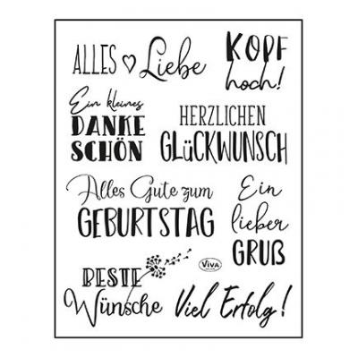 ViVa Clear Stamps - Alles Liebe