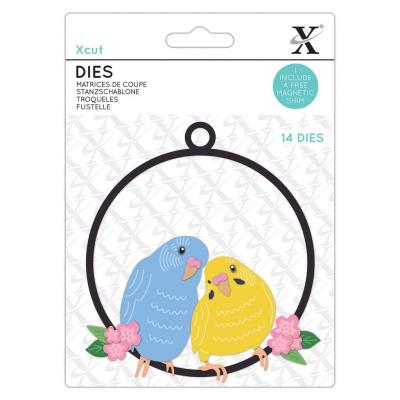 XCut Small Dies - The Budgie Bunch