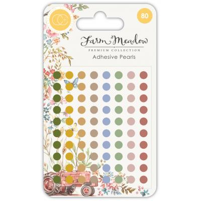 Craft Consortium Farm Meadow - Adhesive Pearls