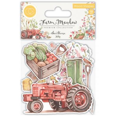 Craft Consortium Farm Meadow - Wood Shapes