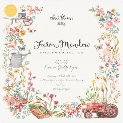 Craft Consortium Farm Meadow Designpapier - Paper Pad