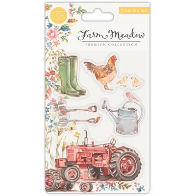 Craft Consortium Clear Stamps - Farm Meadow
