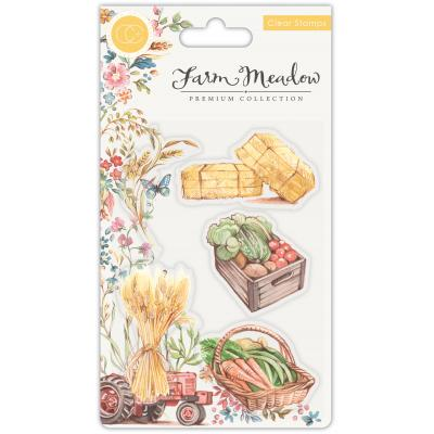 Craft Consortium Farm Meadow Clear Stamps - Pick of the Crop