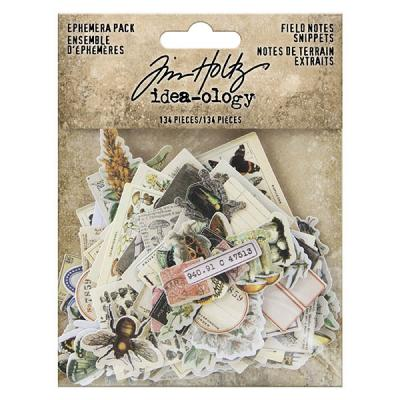 Idea-ology Tim Holtz Die Cuts - Field Notes