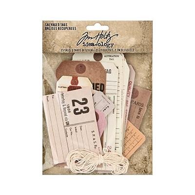 Idea-ology Tim Holtz - Salvaged Tags