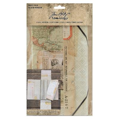 Idea-ology Tim Holtz - Travel Folio