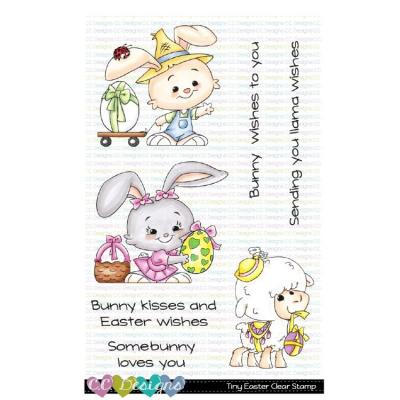 C.C. Designs Clear Stamps - Tiny Easter