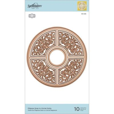 Spellbinders Doily Dies - Filigree Drop in Circlet