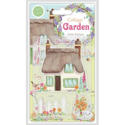Craft Consortium Clear Stamps - Cottage Garden