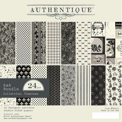 Authentique Designpapier Timeless - Paper Pad