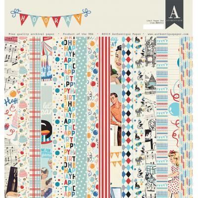 Authentique Designpapier - Hooray