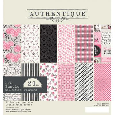 Authentique Designpapier - Flawless