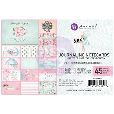 Prima Marketing Surfboard - Journaling Cards 4 x 6