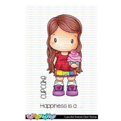 C.C. Designs Clear Stamps - Cupcake Swissie