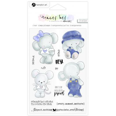 Hampton Art Clear Stamps - Hey Cutie