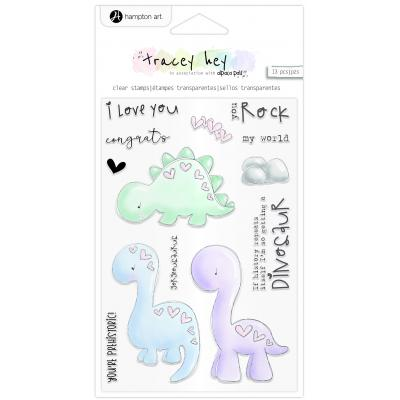 Hampton Art Clear Stamps - You Rock