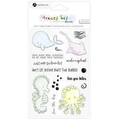 Hampton Art Clear Stamps - A Splash