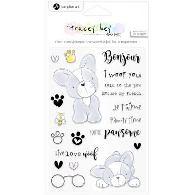 Hampton Art Clear Stamps - Frenchie