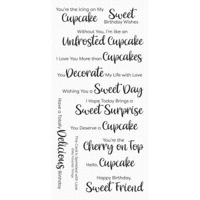My Favorite Things Clear Stamps - Sugar-Coated Sentiments
