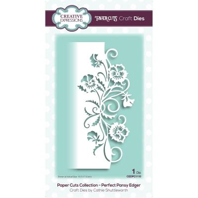 Creative Expressions Paper Craft Dies - Perfect Pansy