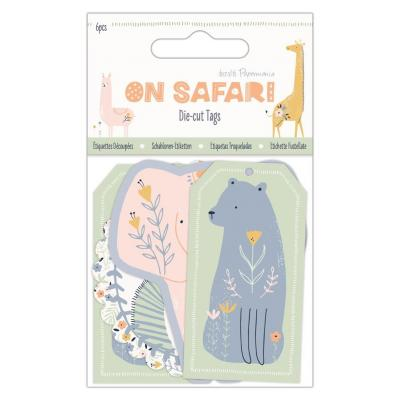Papermania On Safari Die Cuts - Tags