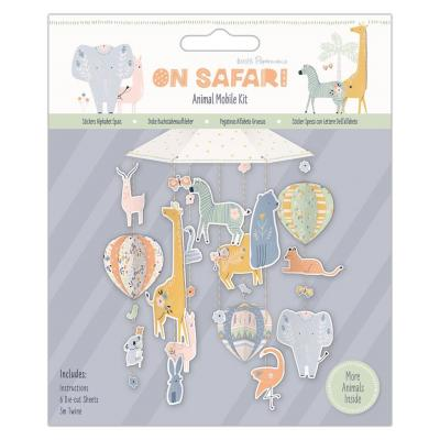 Papermania On Safari Die Cuts - Mobile Kit