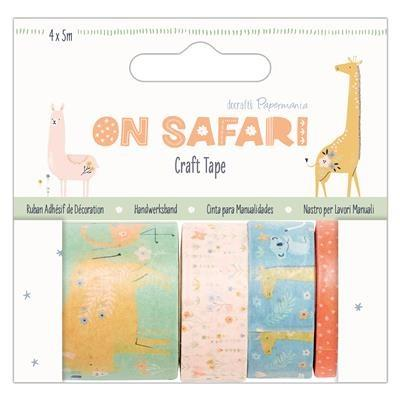 Papermania On Safari Washi Tape - Craft Tape