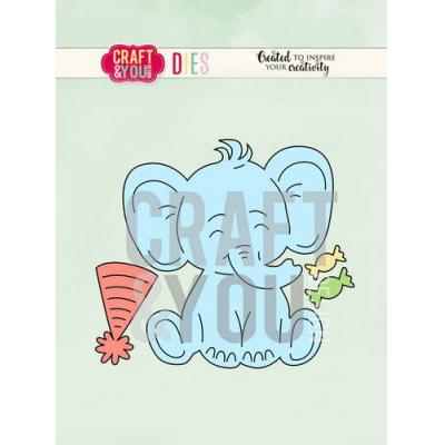 Craft&You Design Cutting Die - Elefant