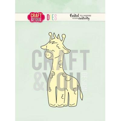 Craft&You Design Cutting Die - Giraffe