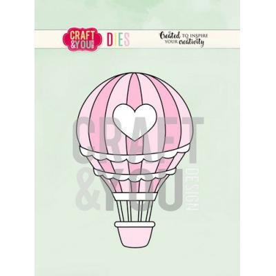 Craft&You Design Cutting Die - Heißluftballon