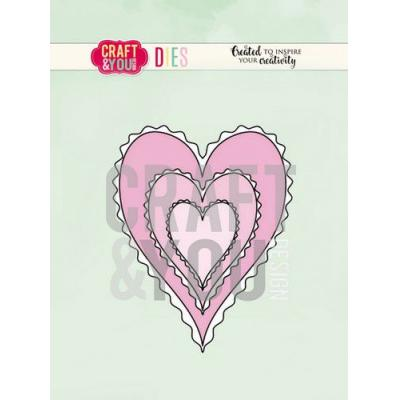 Craft&You Design Cutting Die - Herzen