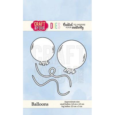 Craft&You Design Cutting Die - Luftballons
