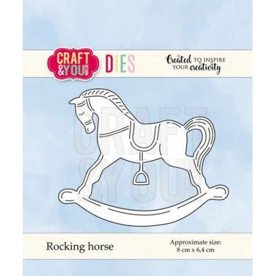 Craft&You Design Cutting Die - Schaukelpferd