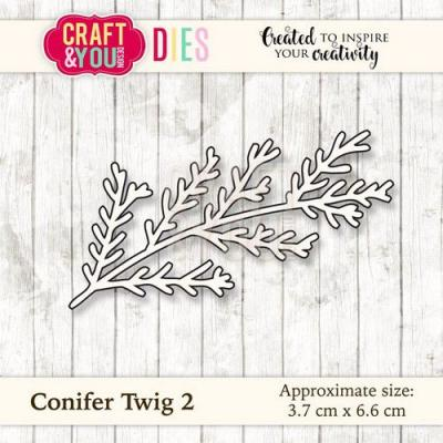 Craft&You Design Cutting Die - Tannenzweig