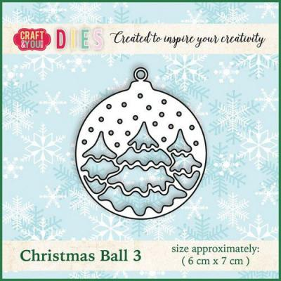 Craft&You Design Cutting Die - Weihnachtsball