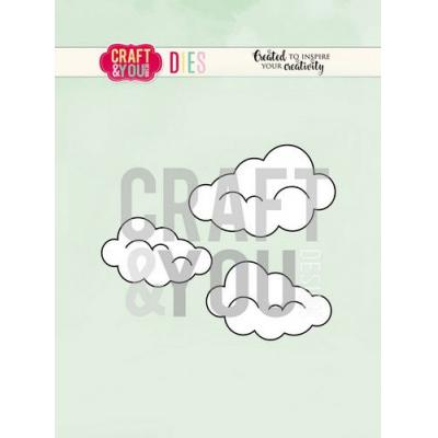 Craft&You Design Cutting Die - Wolken