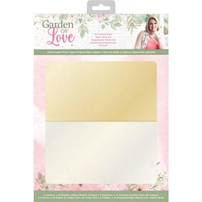 Crafter's Companion Garden of Love -  Vellum Pack