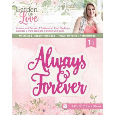 Crafter's Companion Dies Garden of Love - Always and Forever
