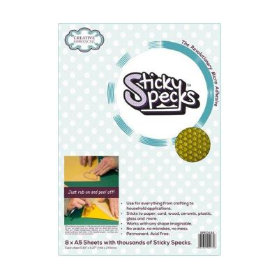 Creative Expressions Sticky Specks Adhesive Sheet A5
