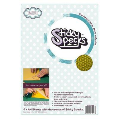 Creative Expressions Sticky Specks Adhesive Sheet A4