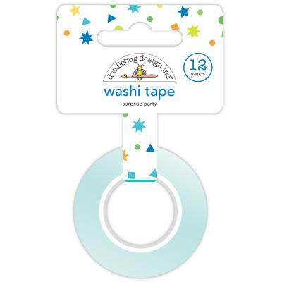 Doodlebug Party Time Washi Tape -  Surprise Party