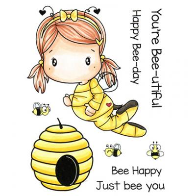 C.C. Designs Clear Stamps - Bee Swissie