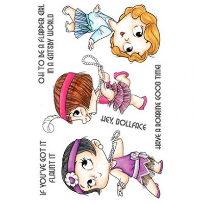 C.C. Designs Clear Stamps - 20s Gal