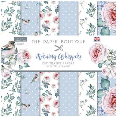 The Paper Boutique Morning Whispers  Designpapier - Decorative Papers