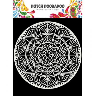 Dutch Doobadoo Mask Art Stencil - Mandala