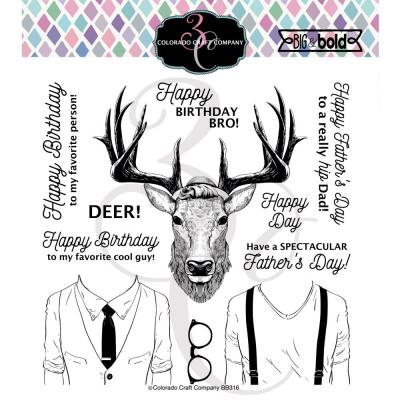 Colorado Craft Clear Stamps - Hipster Deer
