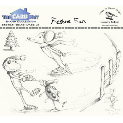 The Card Hut Clear Stamps - Festive Fun