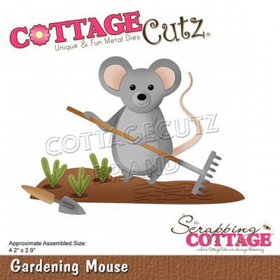CottageCutz Scrapping Cottage Dies - Gardening Mouse