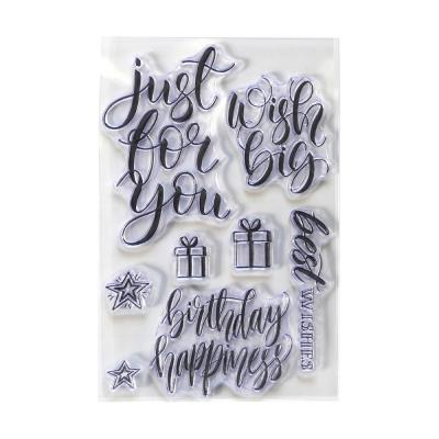 Elizabeth Crafts Clear Stamps - For You